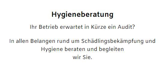 Betriebs Hygiene bei  Abstatt