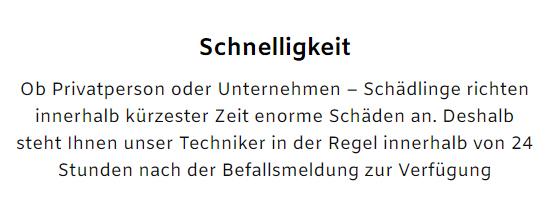 Kammerjäger kurzfristig im Raum  Freiberg (Neckar)